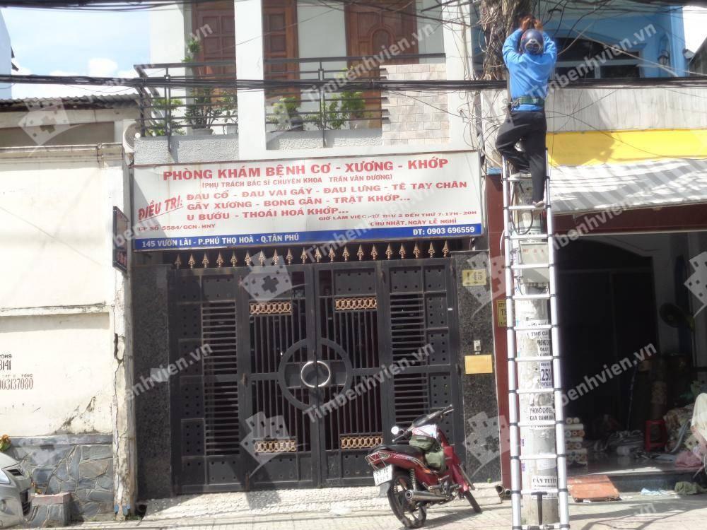 Phòng Khám Cơ Xương Khớp - BS. Trần Văn Dương