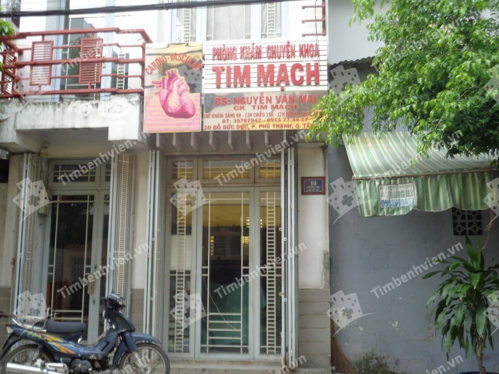 Phòng Khám Chuyên Khoa Tim Mạch - BS. Nguyễn Văn Mai - Cổng chính