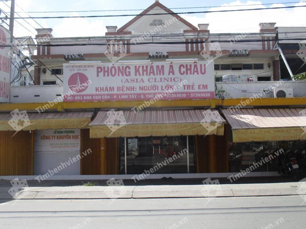 Phòng Khám Đa Khoa Á Châu - Asia Clinic