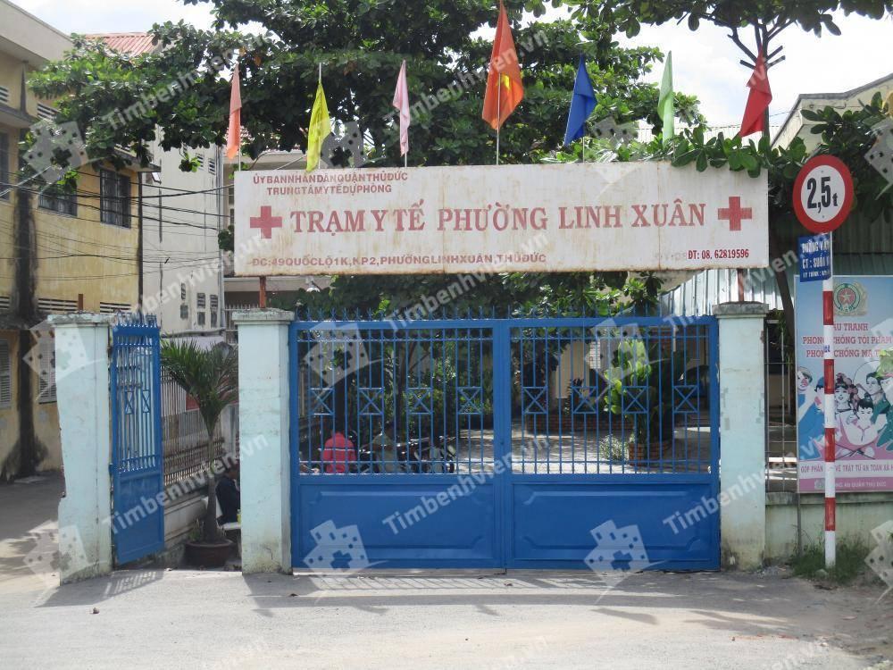 Trạm Y Tế Phường Linh Xuân Quận Thủ Đức - Cổng chính
