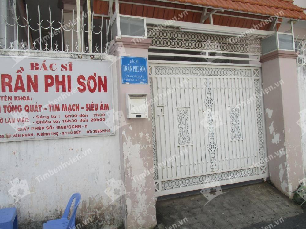 Phòng Khám Nội tổng quát & Tim mạch - BS. Trần Phi Sơn