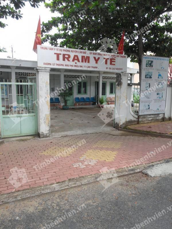 Trạm Y Tế Thị Trấn Cần Thạnh Huyện Cần Giờ