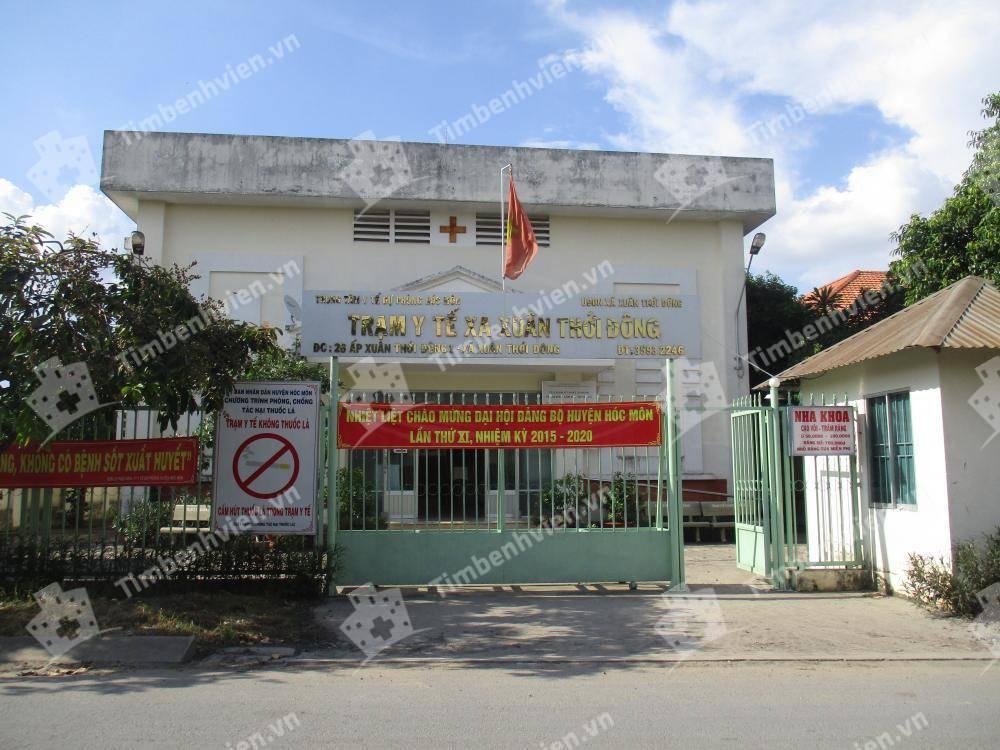 Trạm Y Tế Xã Xuân Thới Đông Huyện Hóc Môn - Cổng chính