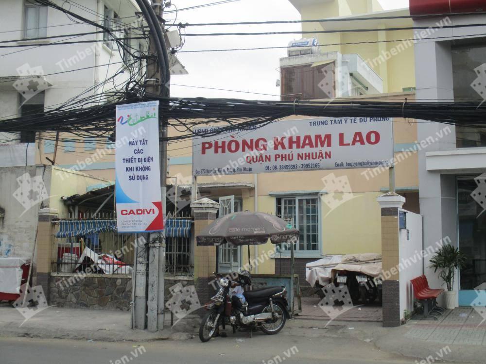 Trung Tâm Y Tế Dự Phòng Quận Phú Nhuận - Phòng Khám Chuyên Khoa Lao