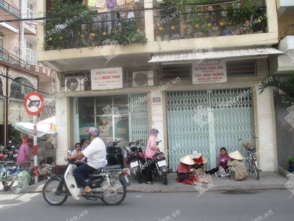 Phòng Khám Chuyên Khoa Tai Mũi Họng - BS. Phan Công Ánh - Cổng chính