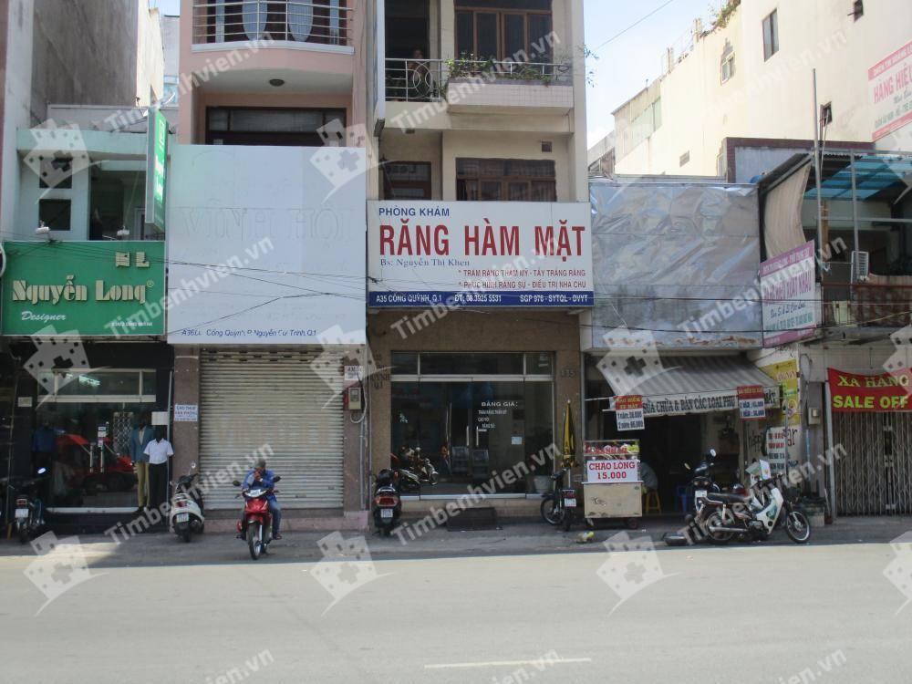 Nha Khoa BS Nguyễn Thị Khen