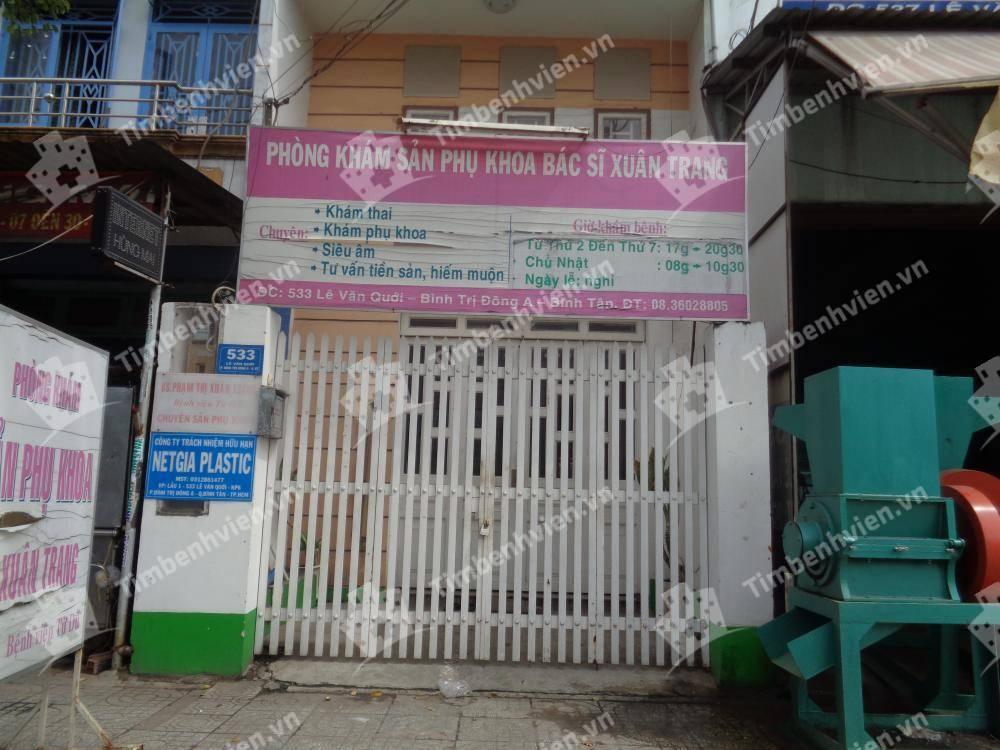 Phòng khám chuyên khoa Sản phụ khoa - BS. Xuân Trang