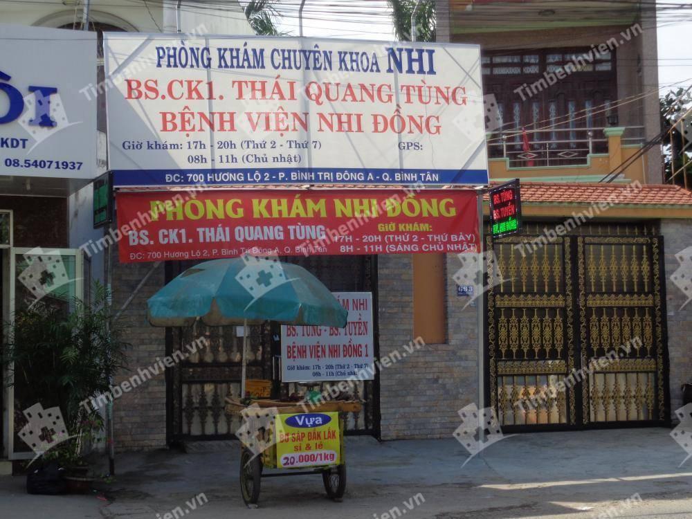 Phòng khám chuyên khoa Nhi - BS. Thái Quang Tùng