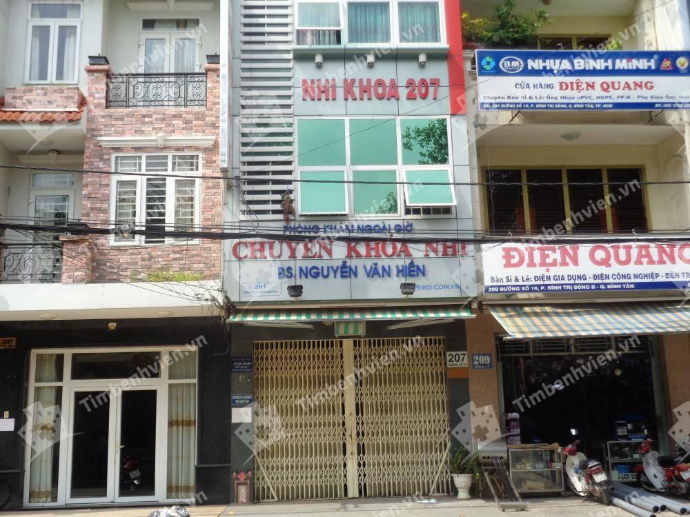 Phòng khám chuyên khoa Nhi - BS. Nguyễn Văn Hiền