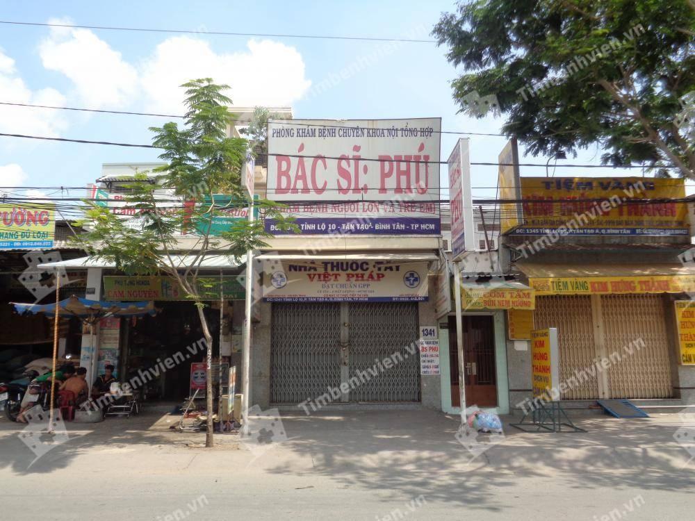 Phòng Khám Chuyên Khoa Nội Tổng Hợp - BS. Phú