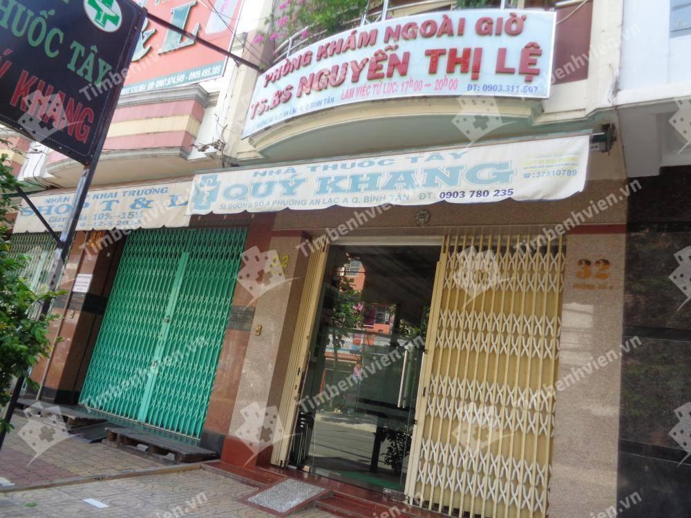 Phòng khám BS.Nguyễn Thị Lệ