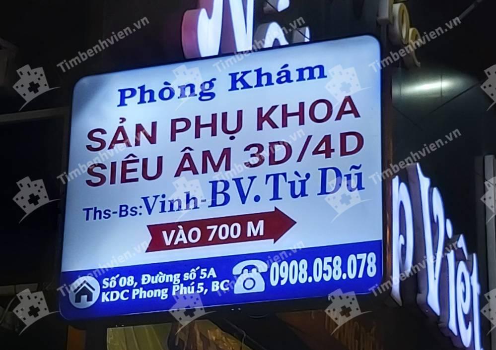 Phòng Khám Sản Phụ Khoa & Siêu Âm - BS. Nguyễn Đình Vinh