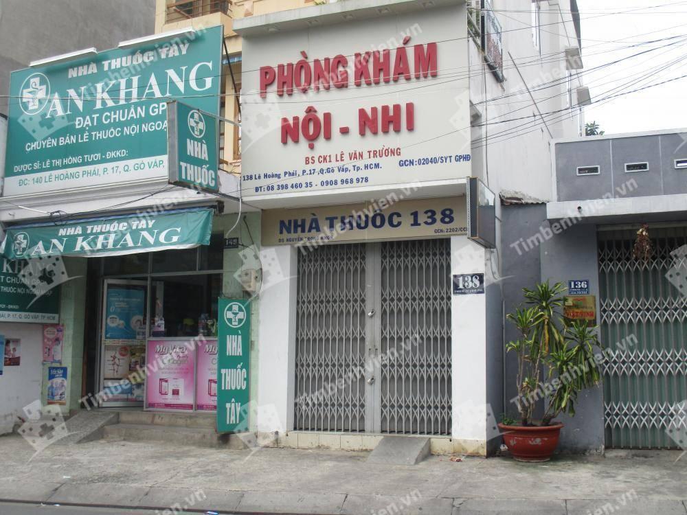 Phòng khám chuyên khoa Nhi - BS. Lê Văn Trường