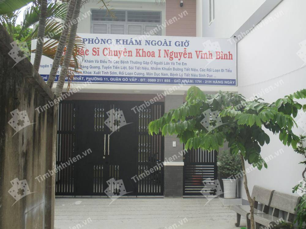 Phòng khám nội tổng quát - BS. Nguyễn Vĩnh Bình