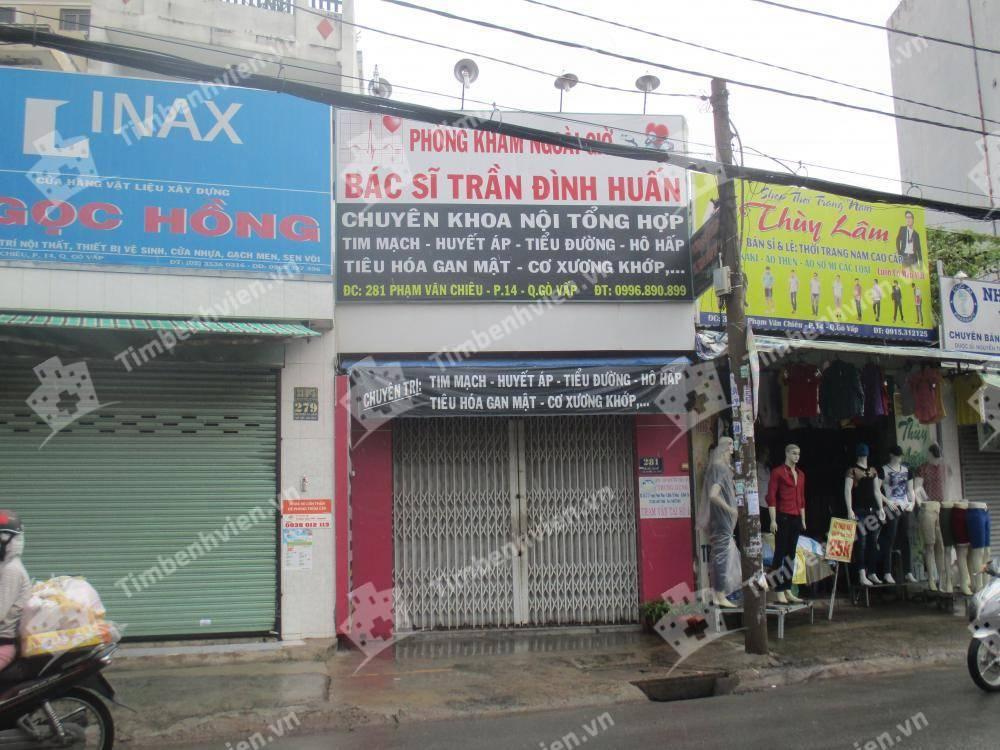 Phòng Khám Chuyên Khoa Nội Tổng Hợp - BS. Trần Đình Huấn - Cổng chính