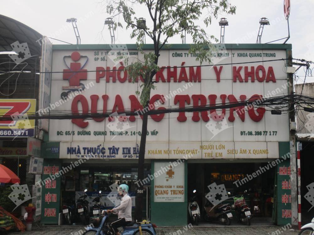 Phòng Khám Y Khoa Quang Trung - Cổng chính