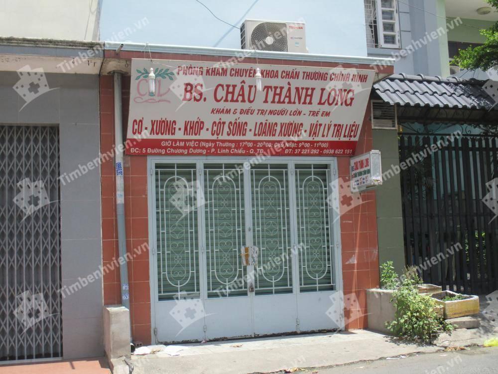 Phòng khám chuyên khoa Chấn thương chỉnh hình - BS Châu Thành Long