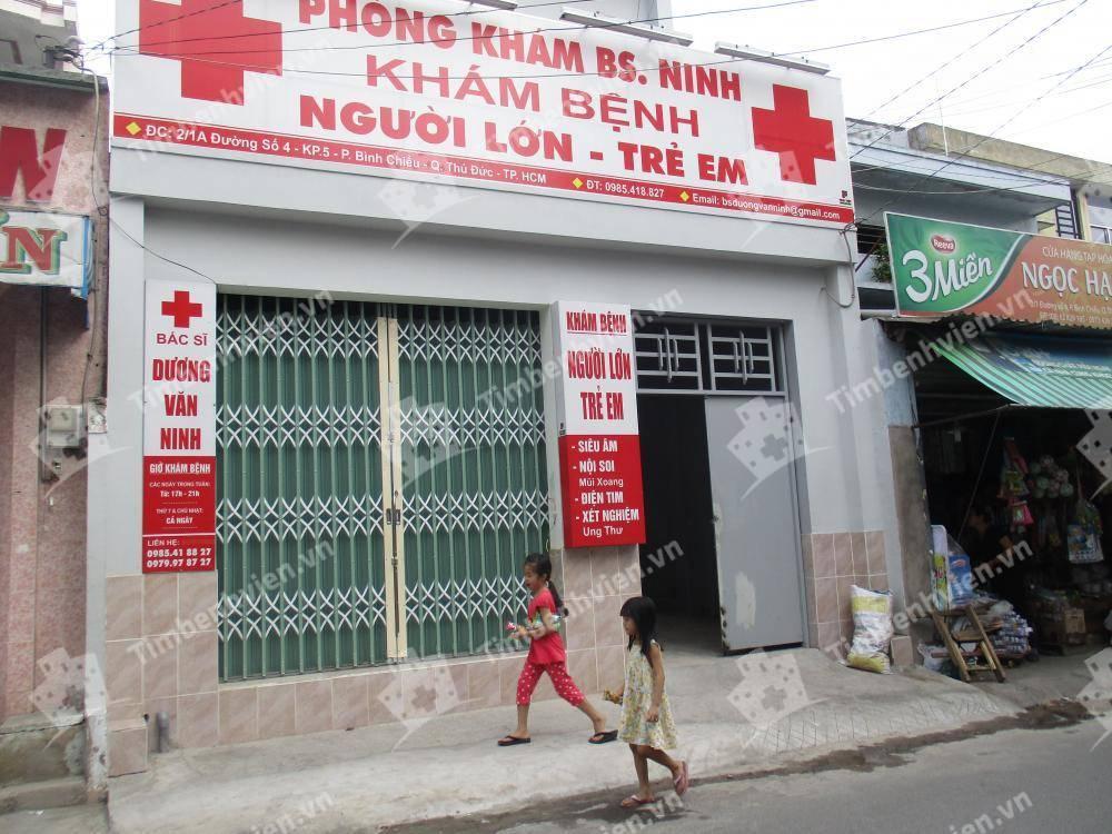 Phòng Khám Nội tổng quát - BS. Dương Văn Ninh - Cổng chính