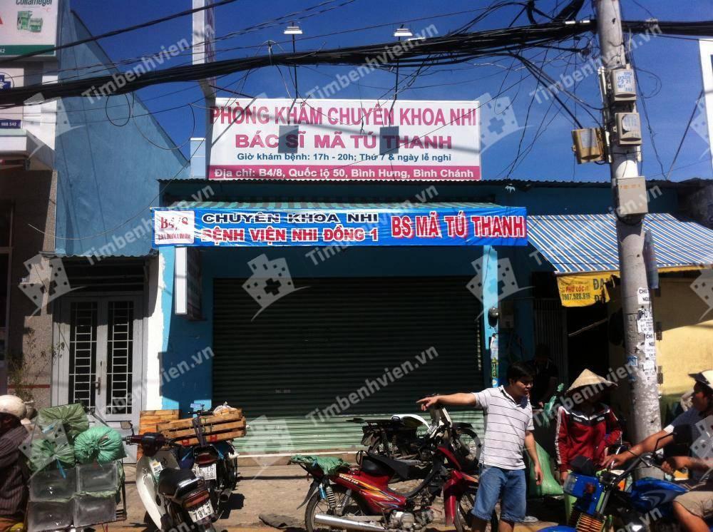 Phòng Khám Chuyên Khoa Nhi - BS. Mã Tú Thanh
