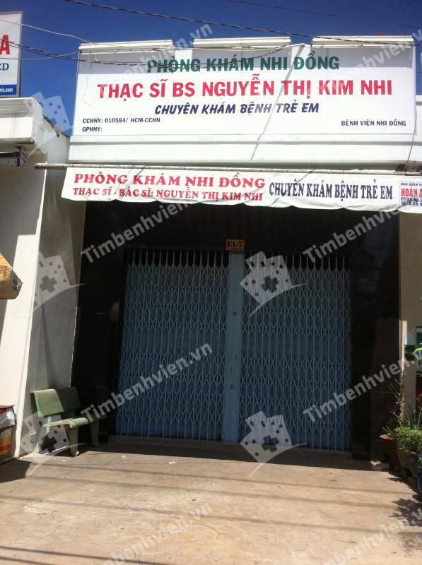 phòng khám nhi đồng Thạc sĩ Bs.Nguyễn Thị Kim Nhi - Cổng chính