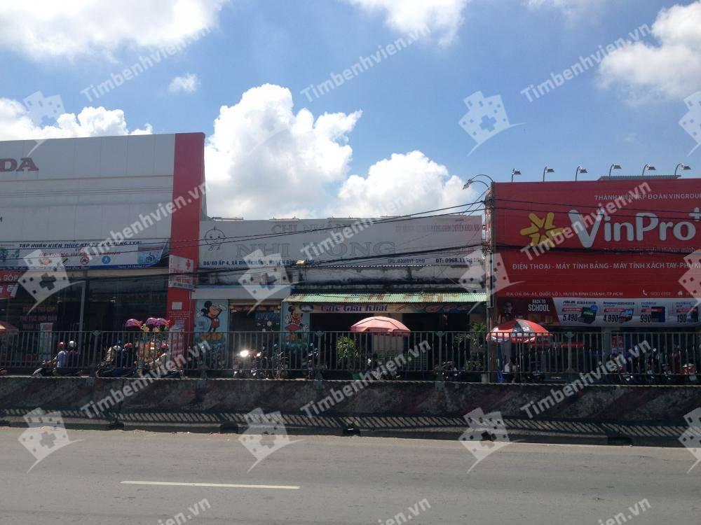 Phòng khám Sài Gòn Quốc Tế - chi nhánh Nhi Đồng - Cổng chính