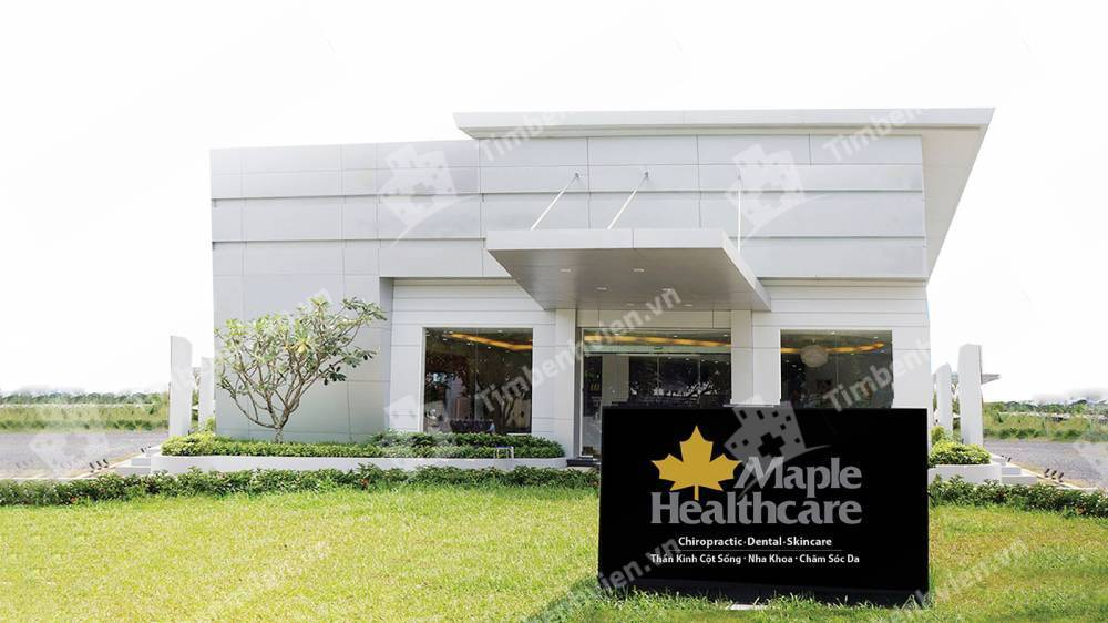 Maple Healthcare - Quận 5 - Cổng chính