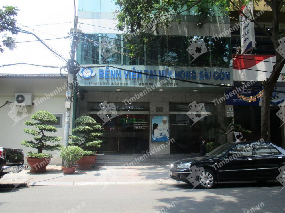 Bệnh Viện Tai Mũi Họng Sài Gòn - Cổng chính