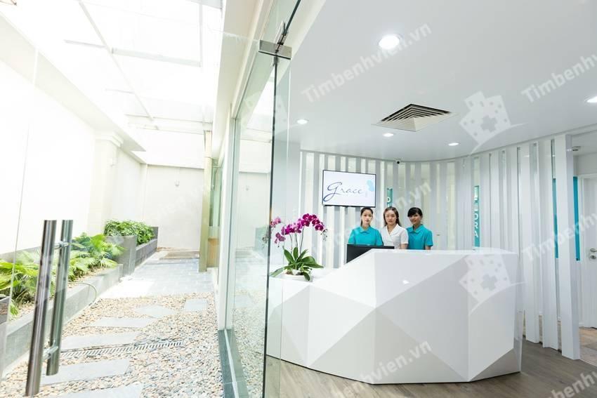 Phòng Khám Da Grace - Grace Skincare Clinic - Cổng chính