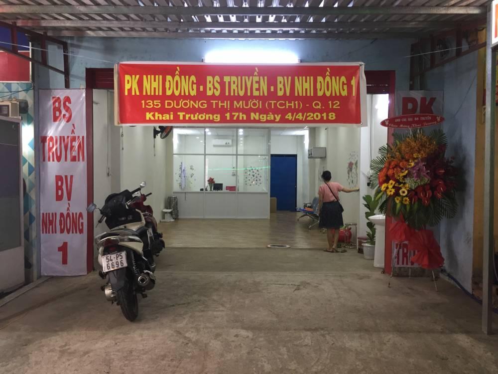 Phòng khám Nhi Đồng - BS Truyền - BV Nhi Đồng 1
