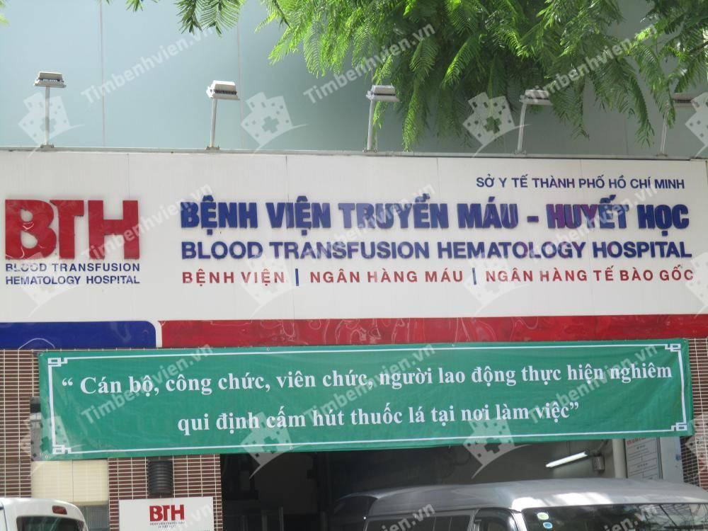 Bệnh Viện Truyền Máu Huyết Học