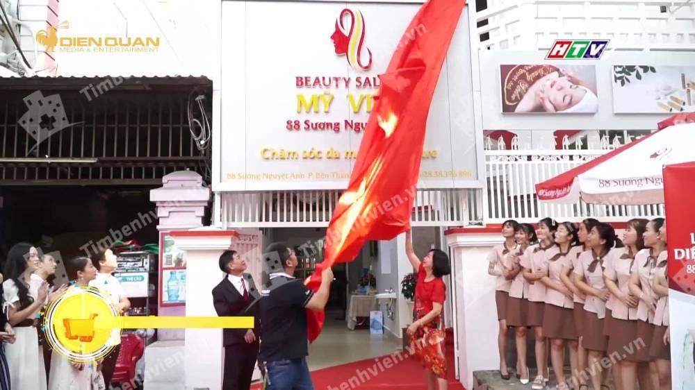 Beauty Salon Mỹ Viện - Cổng chính