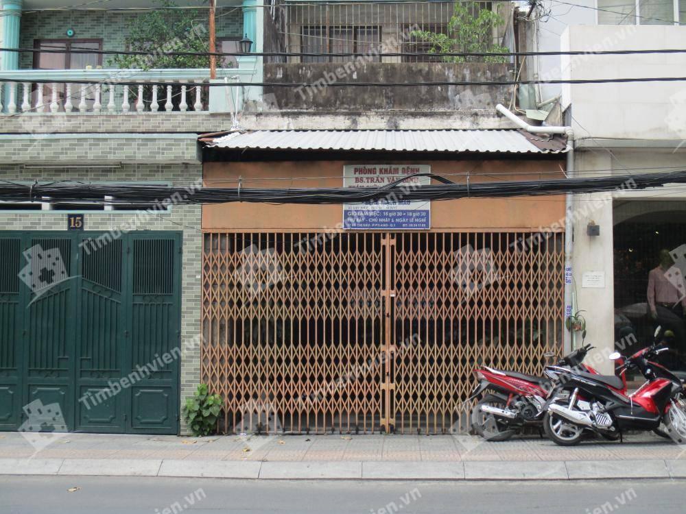 Phòng Khám Bệnh Mạch Máu - BS. Trần Văn Bình - Cổng chính