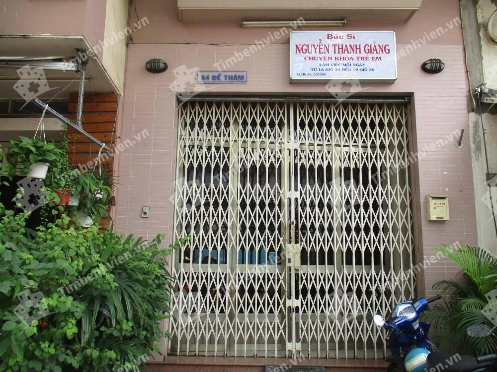 Phòng Khám chuyên khoa Nhi - BS. Nguyễn Thanh Giảng