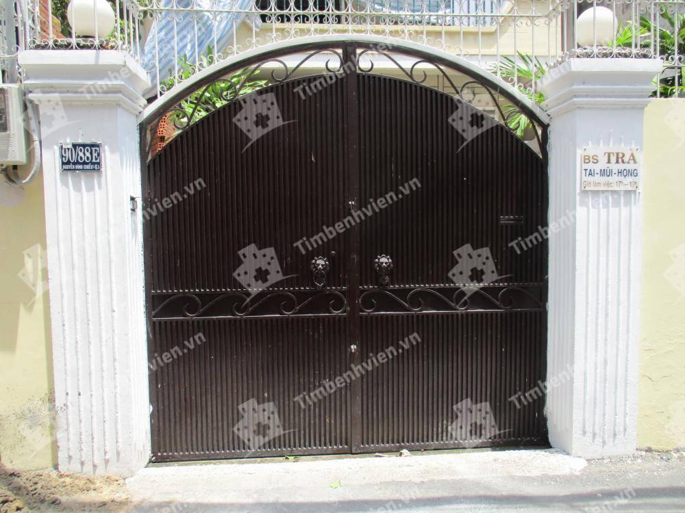 Phòng Khám Tai Mũi Họng - BS. Nguyễn Thị Minh Trà - Cổng chính