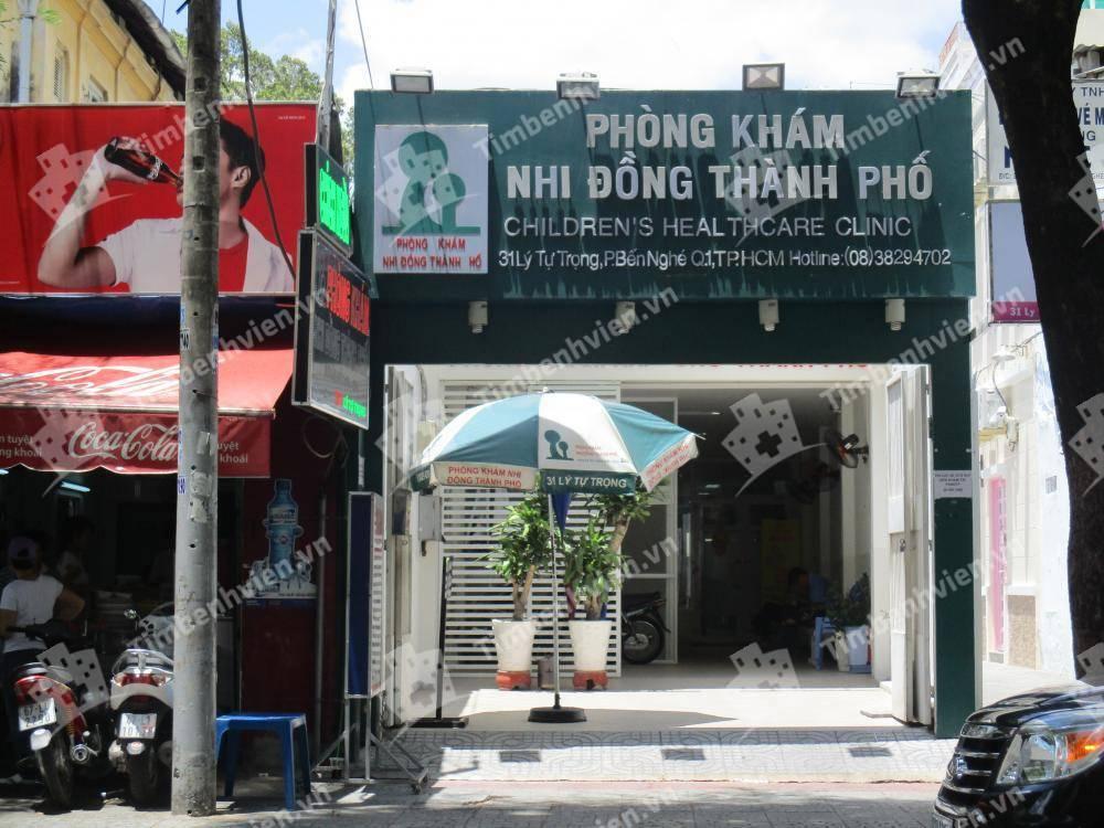 Phòng Khám Nhi Đồng Thành Phố - Cổng chính