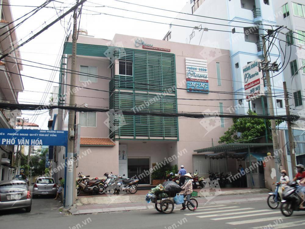 Phòng khám Quốc tế Victoria Healthcare - Cơ sở 1 - Cổng chính