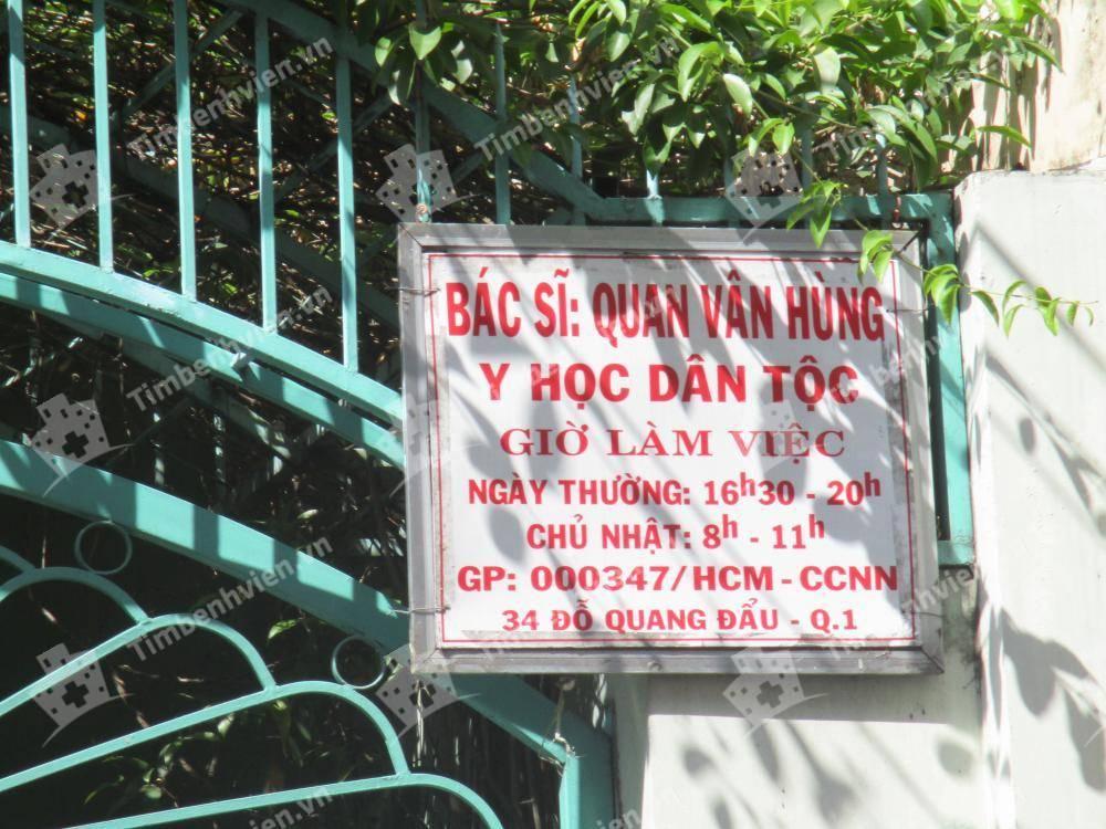 Phòng Khám Y Học Cổ Truyền Quan Vân Hùng