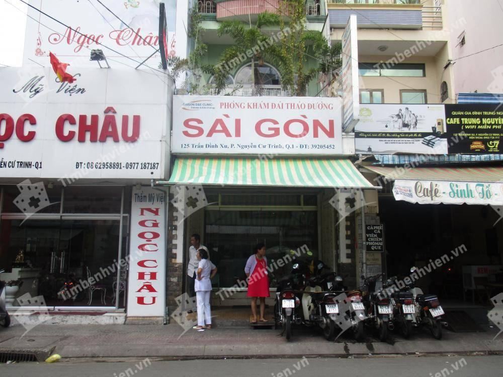 Phòng Khám Đái Tháo Đường Nội Tiết Sài Gòn - Cổng chính