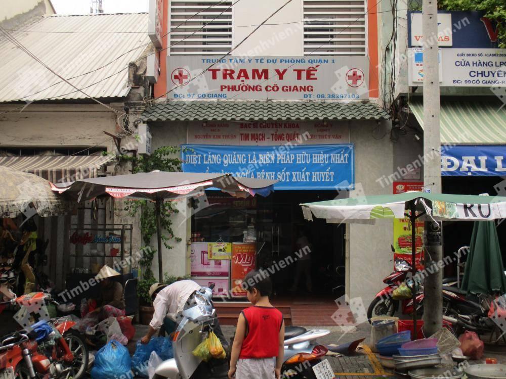 Trạm Y Tế Phường Cô Giang Quận 1