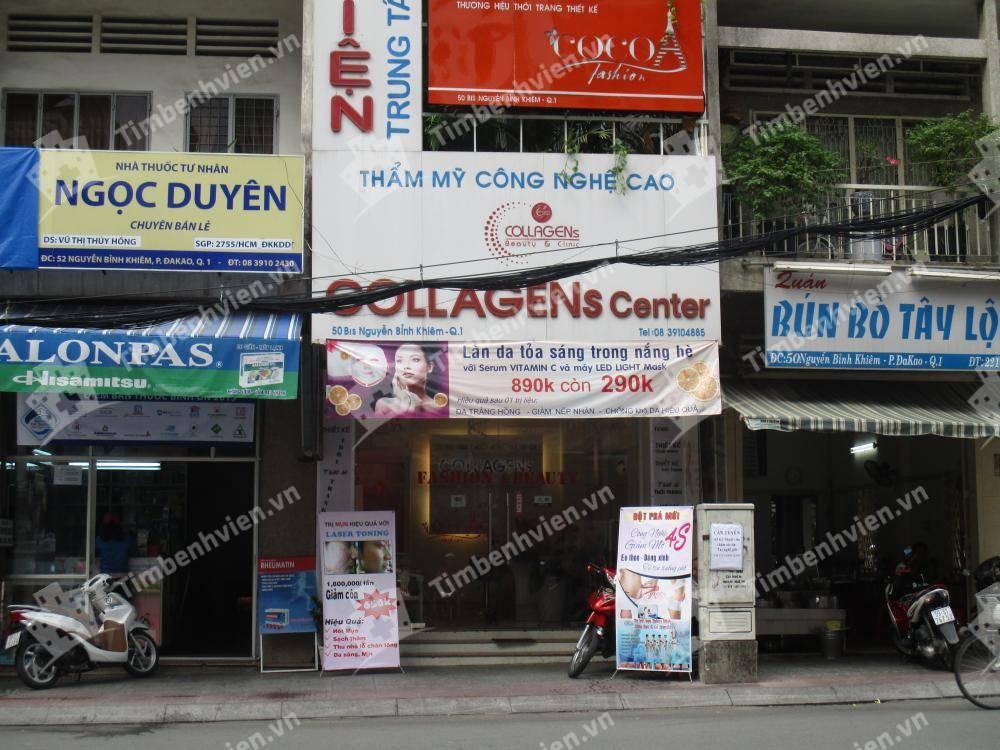 Trung tâm thẩm mỹ kỹ thuật cao Collagens - Cổng chính