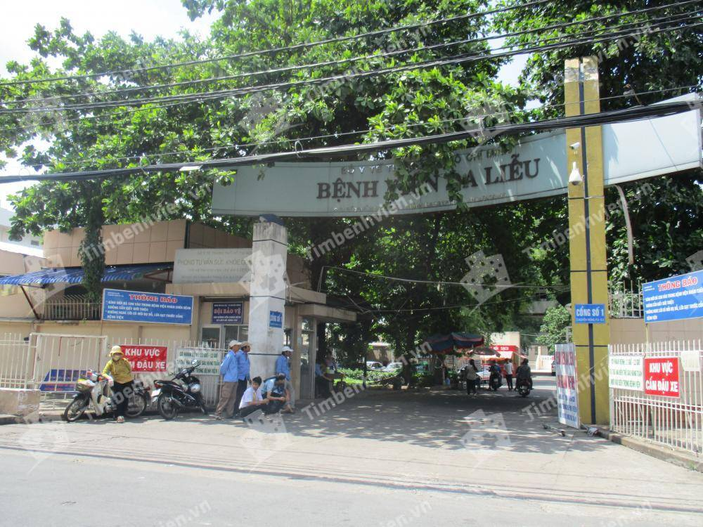 Bệnh Viện Da Liễu Thành Phố Hồ Chí Minh - Cổng chính