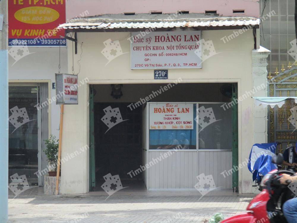 Phòng Khám Chuyên Khoa Nội Tổng Quát - BS. Hoàng Lan