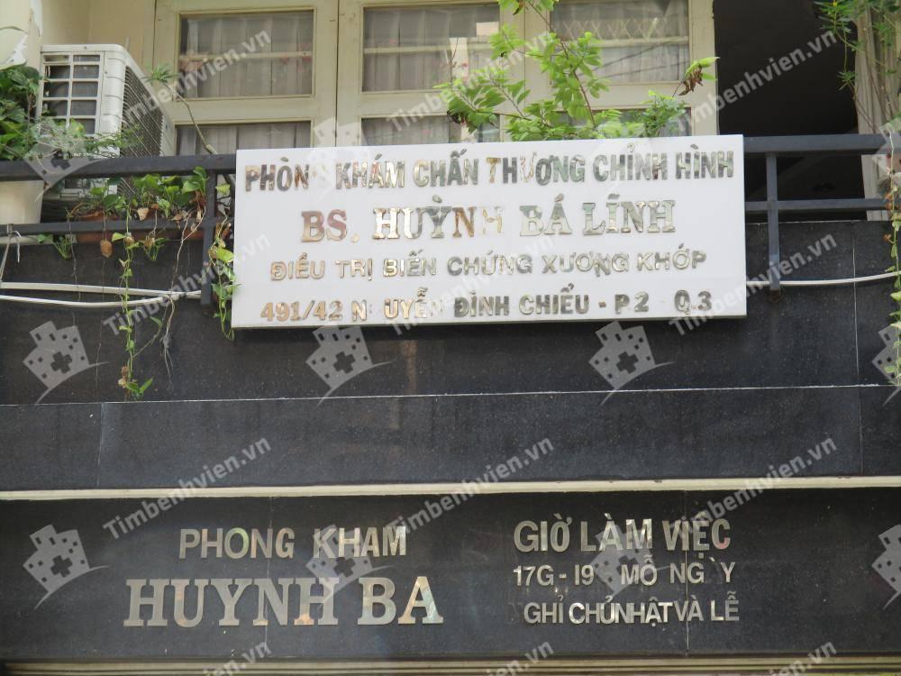 Phòng khám Chấn Thương Chỉnh Hình BS.Huỳnh Bá Lĩnh