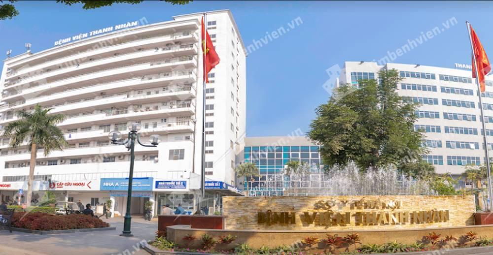 Bệnh Viện Thanh Nhàn - Cổng chính