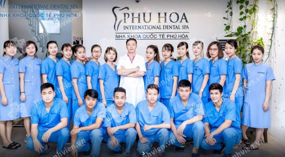 Nha Khoa Quốc Tế Phú Hòa - CS1 - Cổng chính