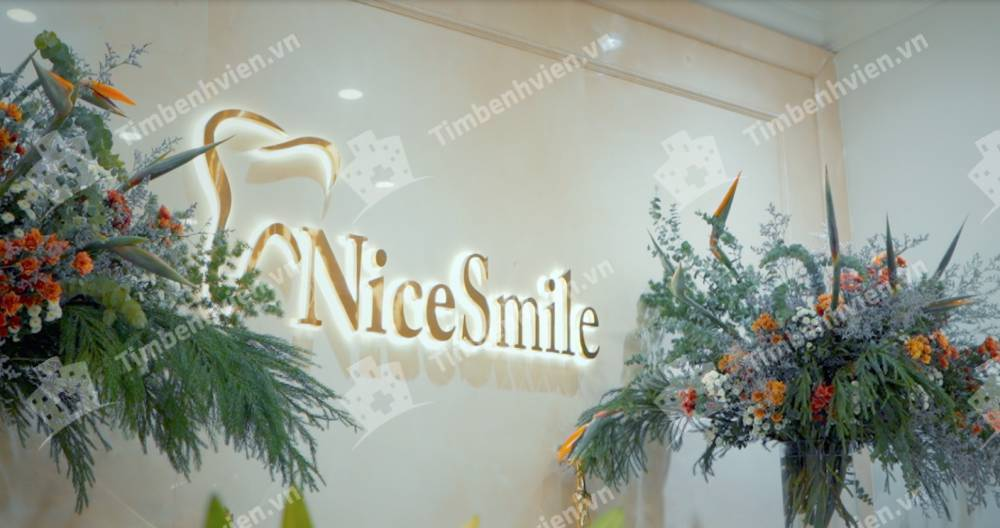Nha Khoa Thẩm Mỹ Nice Smile - Cổng chính