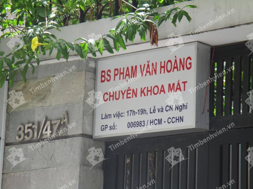 Phòng khám chuyên khoa Mắt - BS Phạm Văn Hoàng