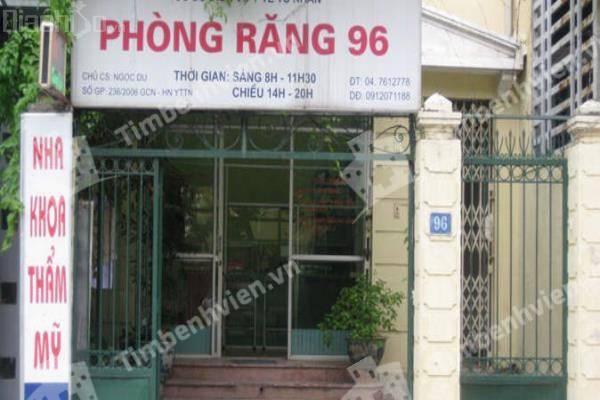 Cơ Sở Dịch Vụ Y Tế Tư Nhân - Phòng Răng 96