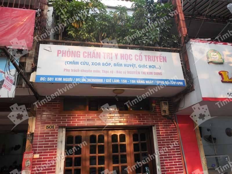 Phòng Chuẩn Trị Y Học Cổ Truyền - BS. Nguyễn Thị Kim Dung