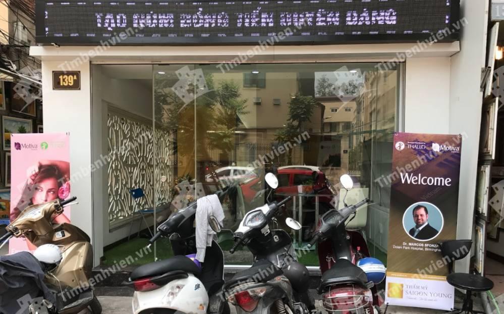 Thẩm Mỹ Saigon Young - Cổng chính